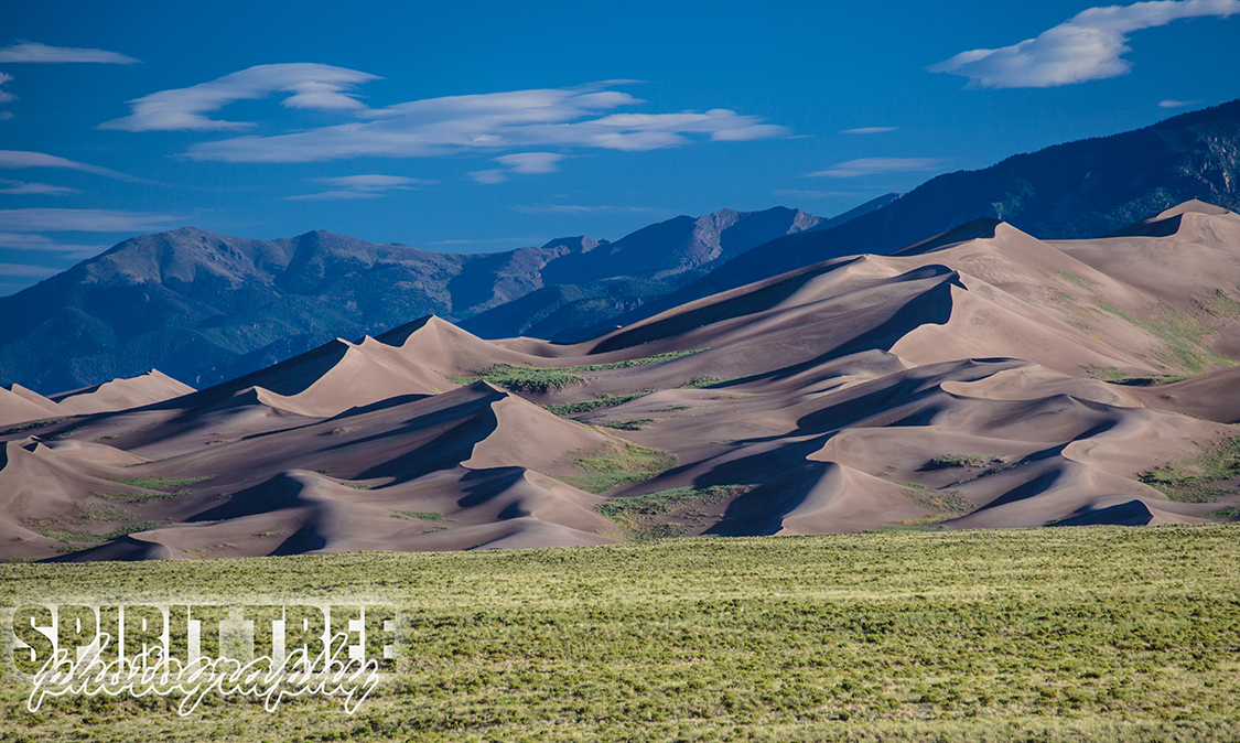 Great Sand Dunes at Dawn